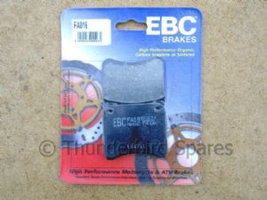 Brake Pads, EBC, for Lockheed Calipers,Triumphs 1973-1984, FA16